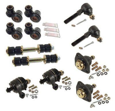 FRONT END MASTER Rebuild Kit Ball Joints+Bushings+Steering