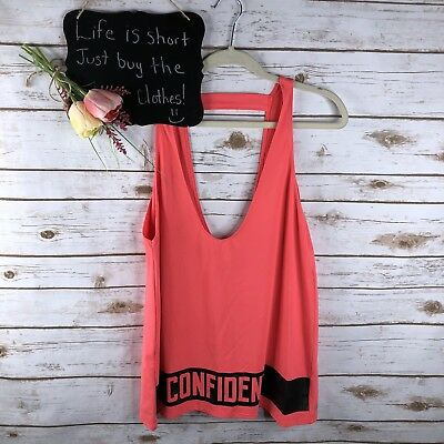 55344aab26 Fabletics Demi Lovato Womens Athletic Top Size L  Pink Confident Tback