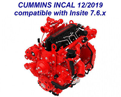 Cummins Incal 04/2019 for use with Insite 7.6.2.240