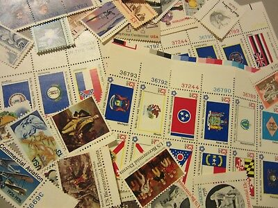 Older  MINT US Postage Stamp Lot, all different MNH 13 CENT COMMEMORATIVE UNUSED