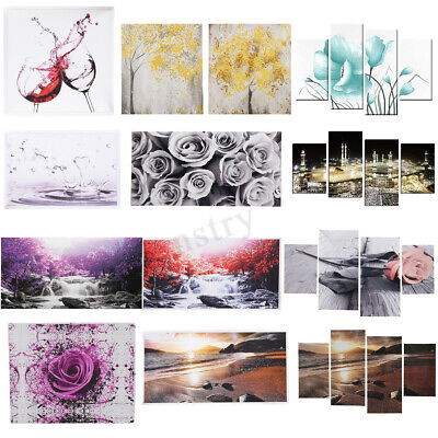 AU 43 Style Modern Art Painting Canvas Print Wall Unframed Pictures Home
