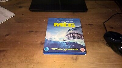 The Meg Blu Ray. Comes with unused digital download code.
