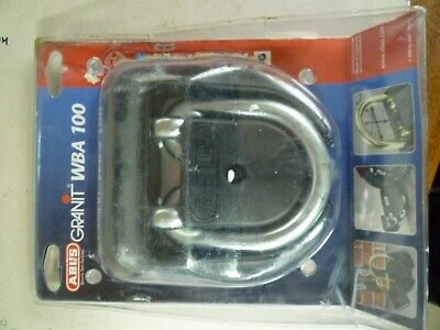 ABUS Granit WBA100 Wall And Ground Anchor securing motorcycles/ bicycles trailer