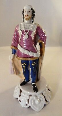 Antique Vintage Continental 19cm Figure German French English King Prince 19thC