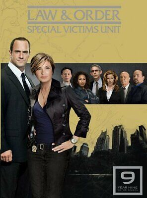 Law and Order: SVU Special Victims Unit: The Ninth Year (Season 9) DVD NEW