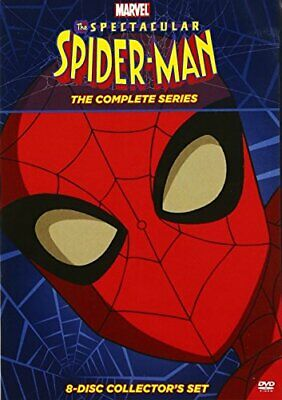 The Spectacular Spider-Man: The Complete Series (8 Disc) DVD NEW