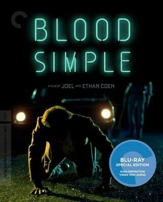 Blood Simple (The Criterion Collection, Mastered in 4K) BLU-RAY NEW