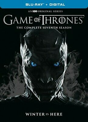 Game of Thrones: The Complete Seventh Season (Season 7) (3 Disc) BLU-RAY NEW