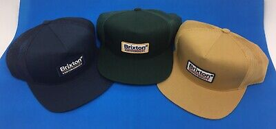 4aa626c0e8ff3 Brixton Palmer Mesh Cap Baseball Cap Men s Hat Snapback Trucker Lot of 3  One Sz