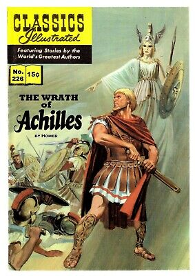CLASSICS ILLUSTRATED EUROPEAN TRANSLATED TO ENGLISH - No.226 WRATH OF ACHILLES