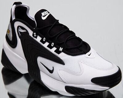 b88c85d341c NIKE ZOOM 2K New Men's Lifestyle Shoes White Black 2019 Low Sneakers  AO0269-101