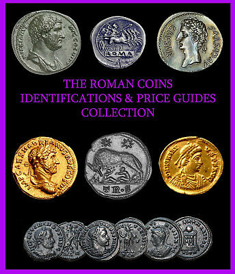 Metal Detecting, Roman & Ancient Greek Coins Collection (1 DVD) Over 200 PDFs