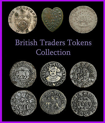 Metal Detecting, British Traders Tokens Collection (1 DVD) Over 100 PDFs