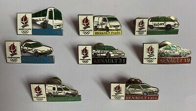 PINS PIN'S ALBERTVILLE JO OLYMPIC 1992 Série Officielle RENAULT