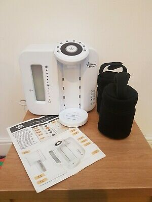 Tommee Tippee perfect prep machine and 2 insulated bottle bags