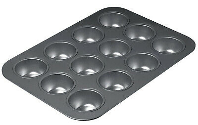 Chicago Metallic 12 Cup Muffin Tin Pan Mould Non Stick High Quality Bake Kitchen