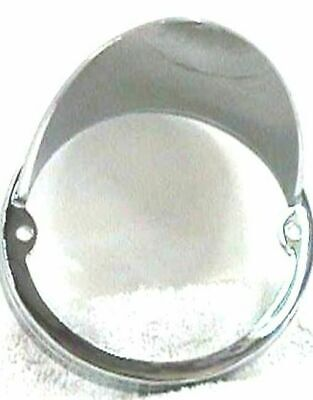 "Light bezel 3 1/2"" cab round horizontal Mount for Peterbilt 2 screw cab lights"