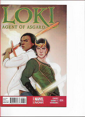 LOKI Agent of Asgard #4 - Back Issue (S)