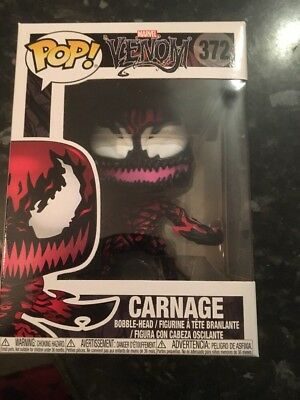 Funko POP Marvel Venom - Carnage With Axes Exclusive!  IN HAND