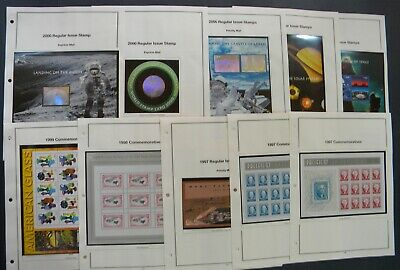 drbobstamps US MNH Sheets & Souvenir Sheets Postage Collection Face $524