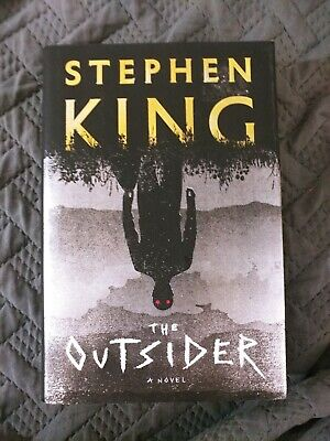 The Outsider:: A Novel by Stephen King (2018, Hardcover)
