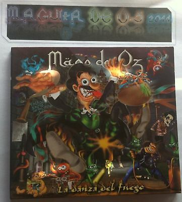 Mago de oz la danza del fuego cd - single finisterra 2.001