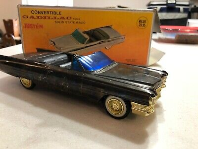 Vintage Cadillac Convertible 1963 Solid State Radio Model Cad-1 in Original Box