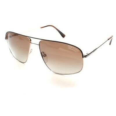 fd4d4695c3dc TOM FORD Justin TF 467 50H Polarized 60 14 140. 3P Brown Gold