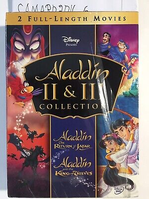 Aladdin The Return Of Jafar/Aladdin And The King Of Thieves(DVD,2005)PLEASE READ