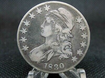 1830 Capped Bust Half Dollar 50c #1   East Coast Coin & Collectables, Inc.