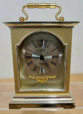 Vintage H.Samuel Hechinger West Germany Carriage Clock - FULLY WORKING