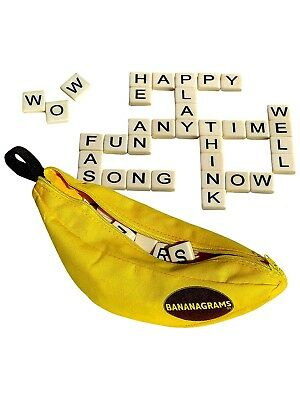 Bananagrams Word Game Spelling Puzzle. Perfect family board game! New