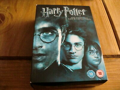 HARRY POTTER~THE COMPLETE DVD BOX SET COLLECTION *ALL 8 MOVIES* 1p!!!!!!!!!!