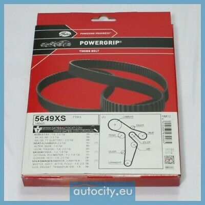 Gates 5649XS Timing Belt/Courroie crantee/Distributieriem/Zahnriemen
