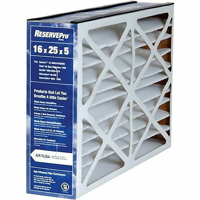 "GeneralAire 5FM1625 - 16"" x 25"" x 5"" #4511 RESERVEPro MERV 10 Pleated Air Filter"