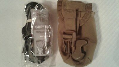 Nwot Tactical Medical Solutions Sof Tactical Tourniquet 1 In W/coyote Pouch Seal