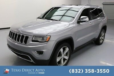 2016 Jeep Grand Cherokee Limited Texas Direct Auto 2016 Limited Used 3.6L V6 24V Automatic 4WD SUV
