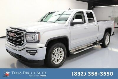2017 GMC Sierra 1500 SLE Texas Direct Auto 2017 SLE Used 5.3L V8 16V Automatic 4WD Pickup Truck OnStar