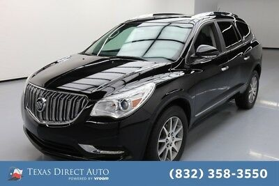 2017 Buick Enclave Leather Texas Direct Auto 2017 Leather Used 3.6L V6 24V Automatic FWD SUV OnStar