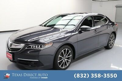 2016 Acura TLX V6 Tech Texas Direct Auto 2016 V6 Tech Used 3.5L V6 24V Automatic FWD Sedan Premium