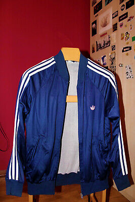 Adidas Blue Vintage Tracksuit Size M Perfect Conditions
