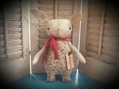 Primitive Rabbit Doll ~ Bunny ~ Easter ~ Spring ~