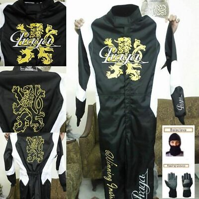 PRAGA Go Kart Racing Suit CIK/FIA Level 2 Approved includes Free Gift