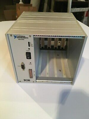 NATIONAL INSTRUMENTS SCXI-2000 DATA ACQUISITION CHASSIS P/N 183039E-01, in VGC!