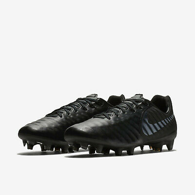 cda94ee74 Nike Tiempo Legend 7 Pro Fg Soccer Cleats Men s Size Us 11 Black Ah7241-001