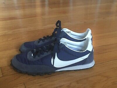 sports shoes d8e72 780aa Nike For J. Crew Vintage Waffle Racer men s size 9 Navy Excellent Condition