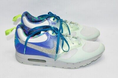 6ef17cb662c NEW Rare Womens NIKE AIR Bible Verse Running Shoes Phil 4 13 8.5 OMBRE  Sparkle