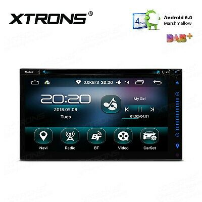 """6,95"""" Android 6.0 Marshmallow Quad Core 16G ROM 2-DIN Car Multimedia DVD Player"""