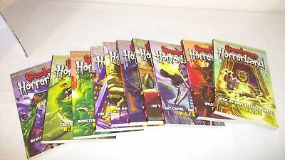 Goosebumps Horrorland Series Collection R. L. Stine 10 Books Box Set | R L Stine