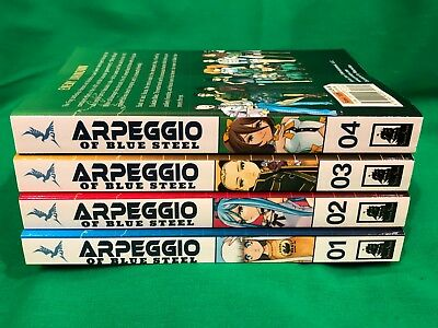 Ark Performance - Arpeggio of Blue Steel Volumes 1-4